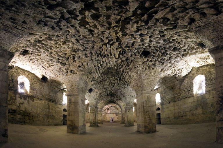 croatia-split-diocletians-palace-cellars