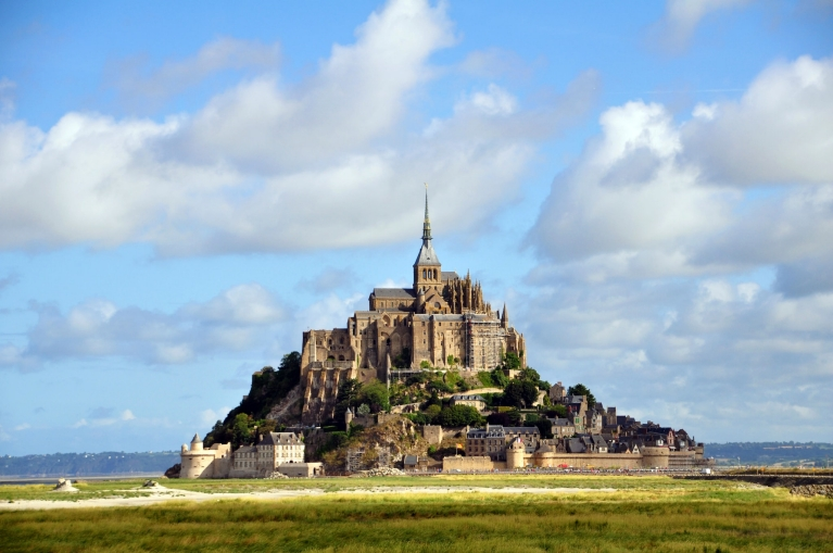 Mont Saint-Michel in Normandy