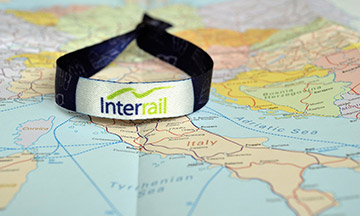 interrail-wristband-on-map
