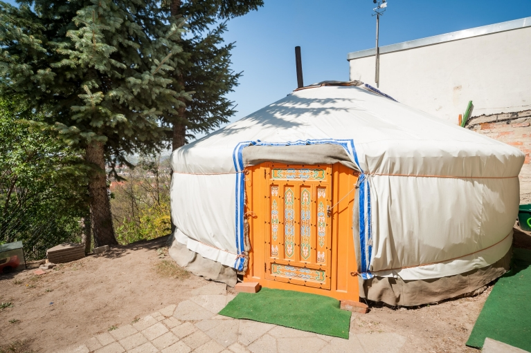 Airbnb tent