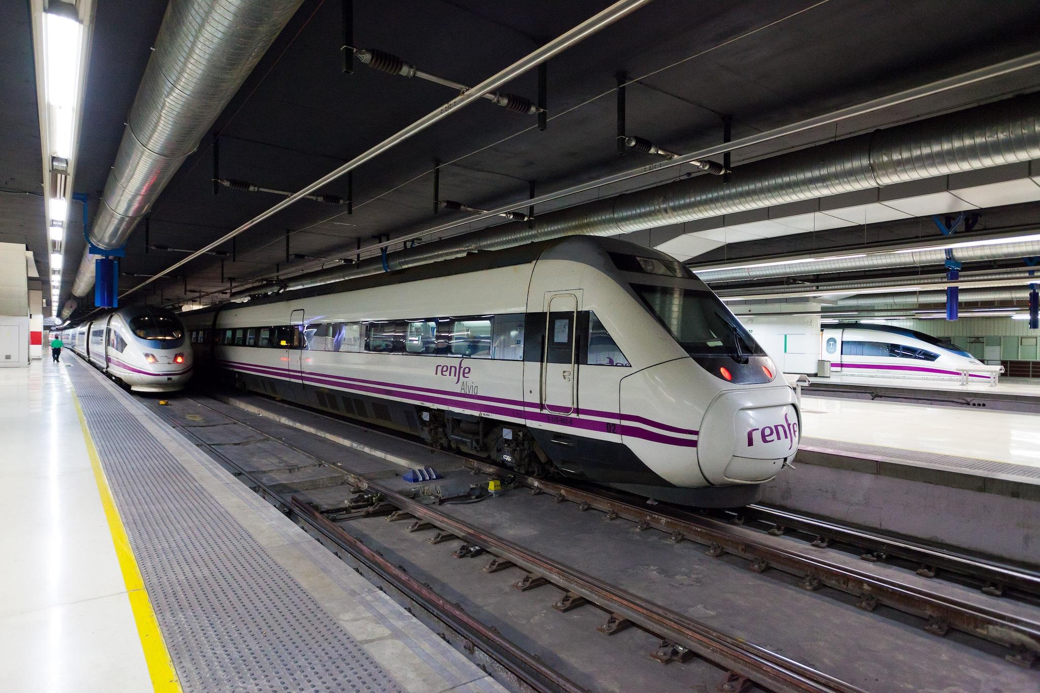 Trains In Spain Map.Trains In Spain Interrail Eu