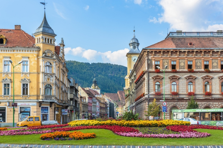 Old town of Brasov