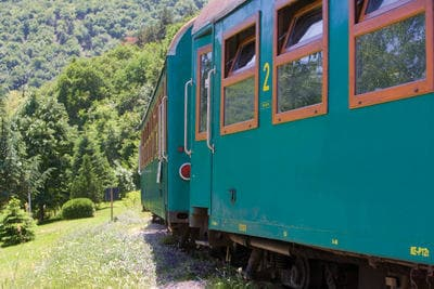 Bulgarian train outdoors | Trains in Bulgaria