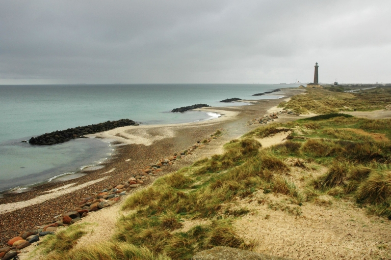 Coastline of Skagen