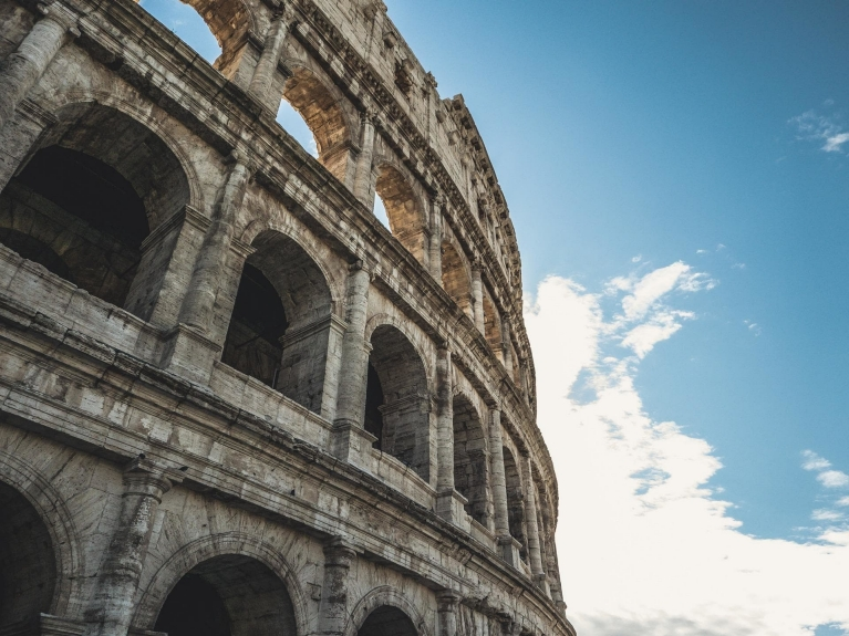 Romeinse wandeling Colosseum