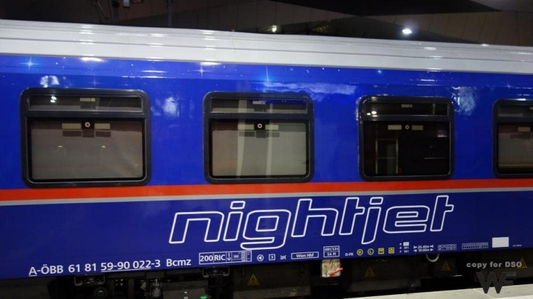 Train ÖBB Nightjet