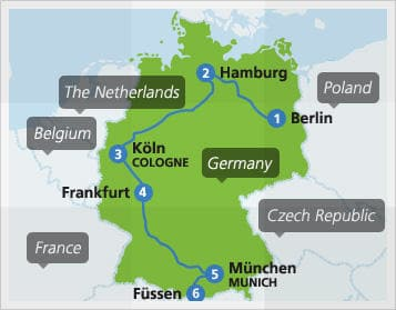 example-train-route-germany