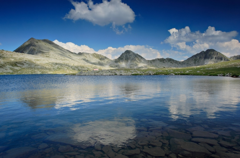 Gletschersee im Pirin-Nationalpark