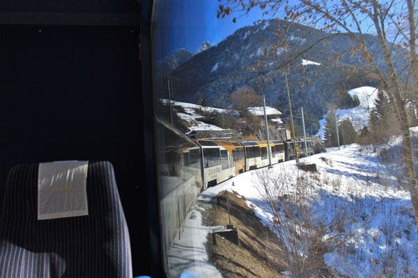 Summer or winter, the Golden Pass ride will take your breath away