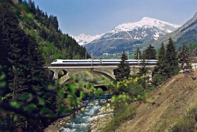 Züge In Der Schweiz Interraileu