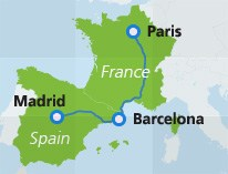 Trains Between France Italy Spain Interrail