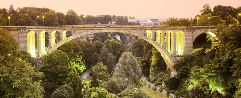 Adolphe Bridge, Luxembourg city