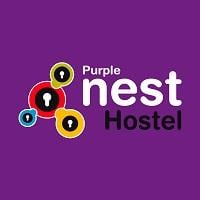 logo del purple nest hostel