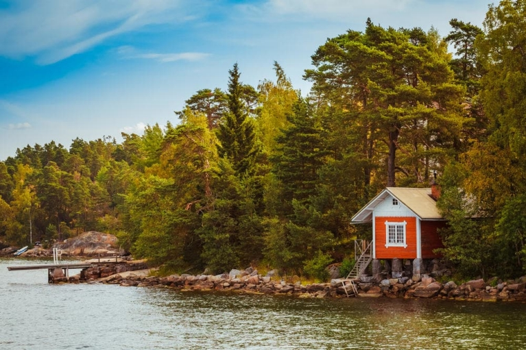 Relaxation Finnish-style: visit a secluded woodland sauna