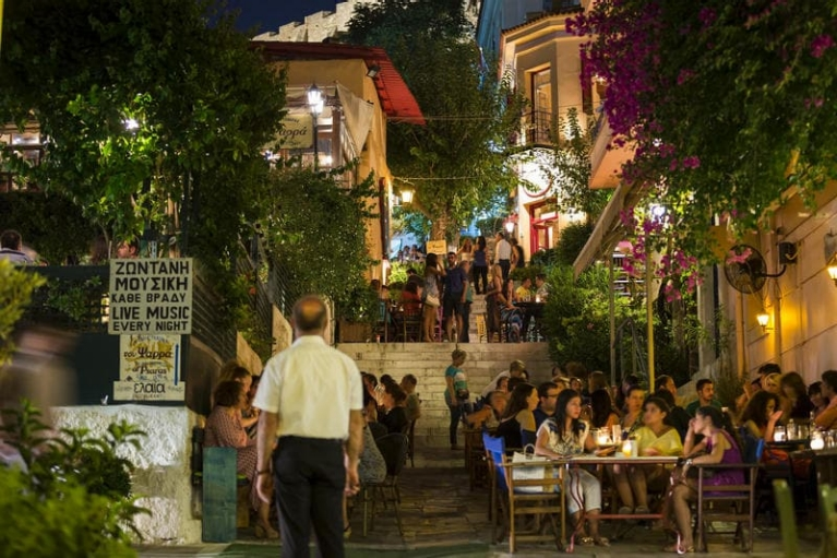Restaurants in Athen