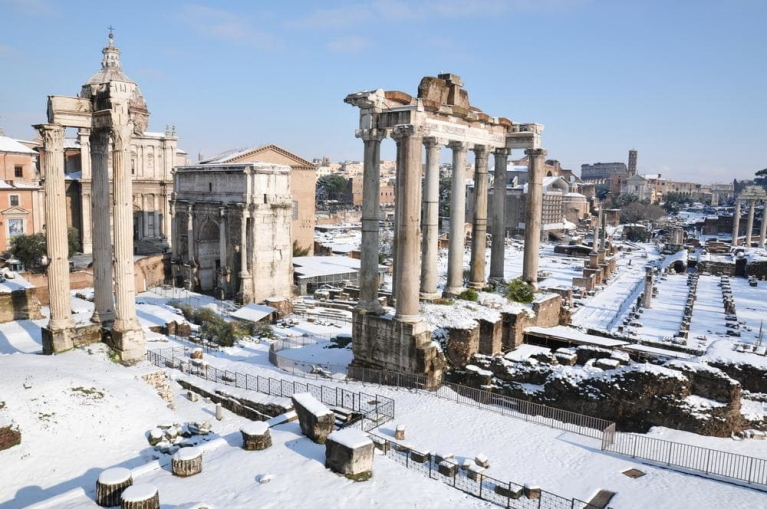 Discover the beautiful legacy of the Roman Empire in Rome