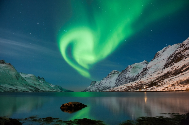 The spectacular Northern Lights