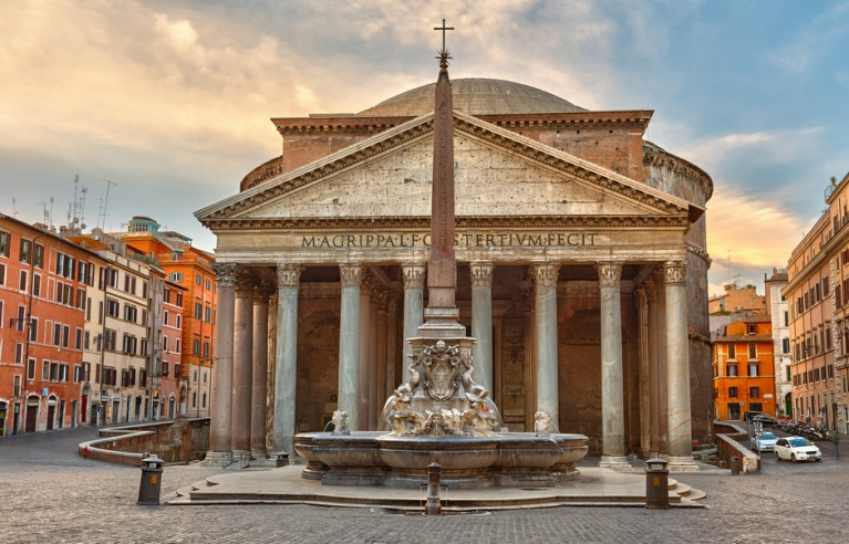 Pantheon in Rome | 24 uur in Rome