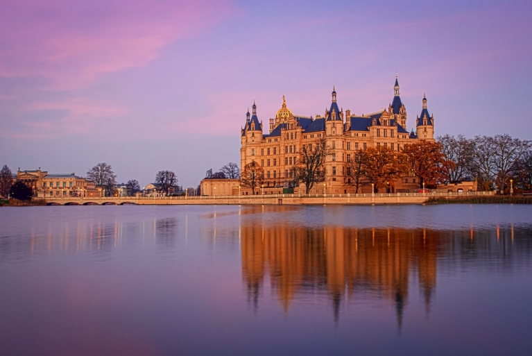 The beautiful Schwerin Castle