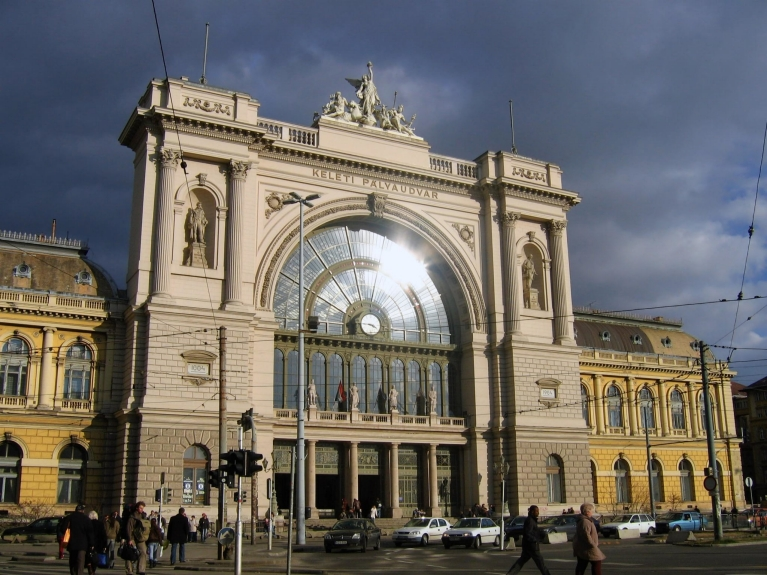 Train station, Budapest, Hungary
