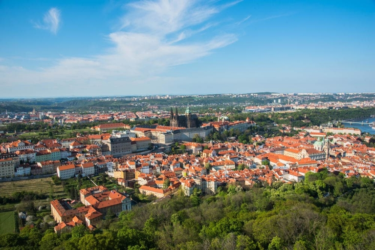 View of Prague from Petrin Hill | 24 hours in Prague