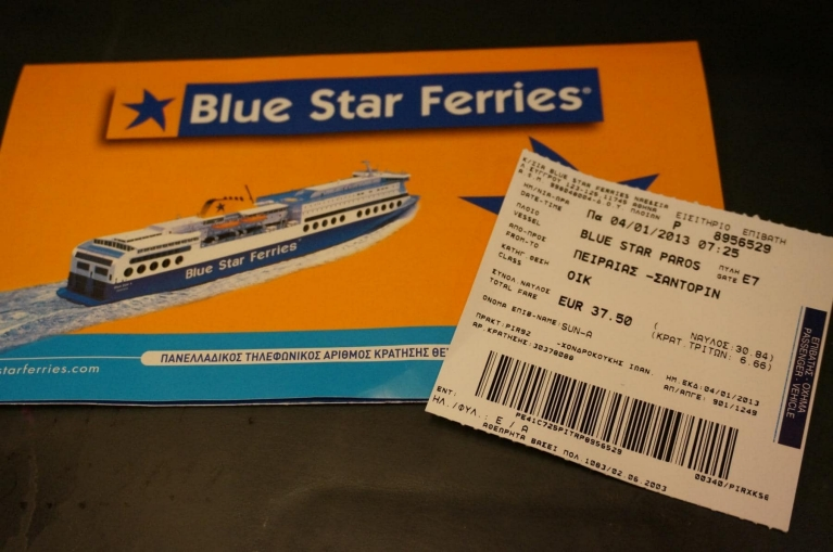 Billetes de Blue Star Ferries