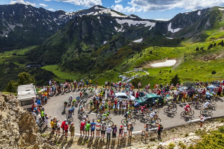 Tour de France, Pyreneeën
