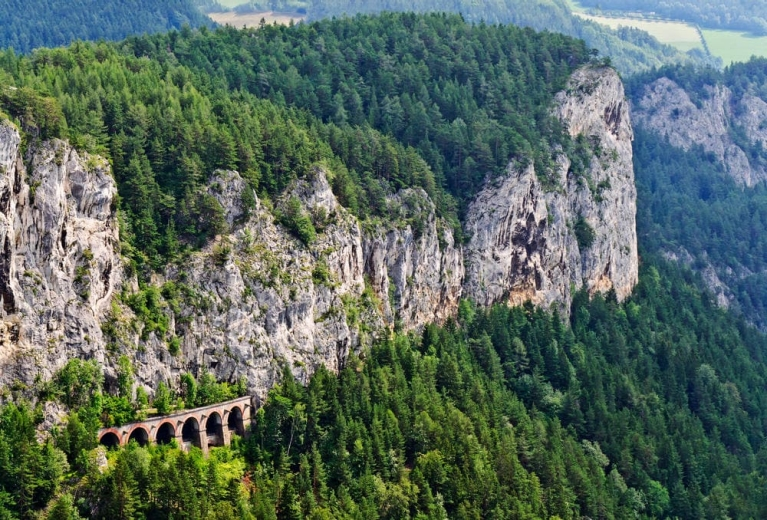 Viaduct of Semmering Line, Austria