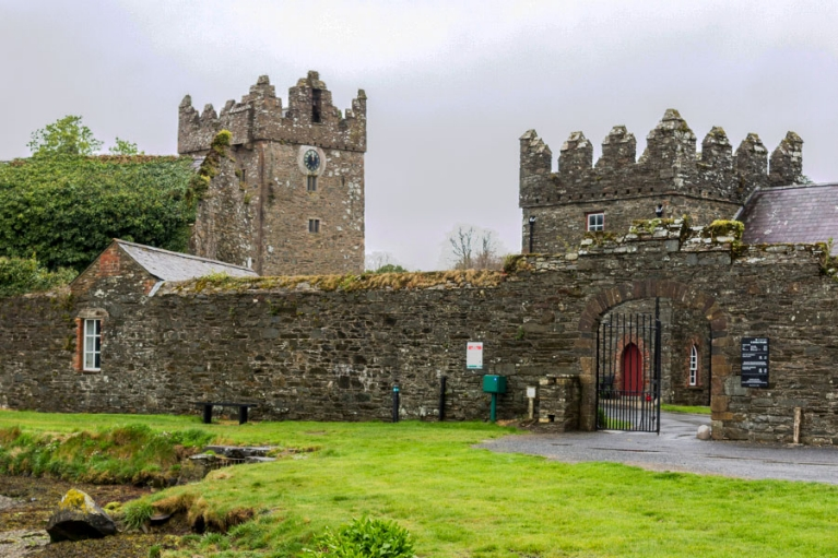 ireland-castle-ward-gates-towers