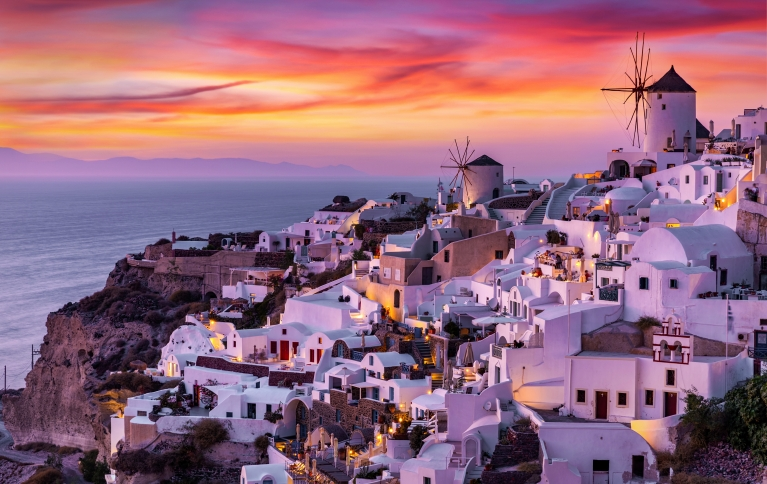 santorini-greece-islands-sunset