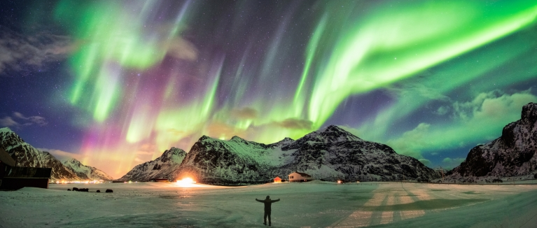 Northern light in Norway