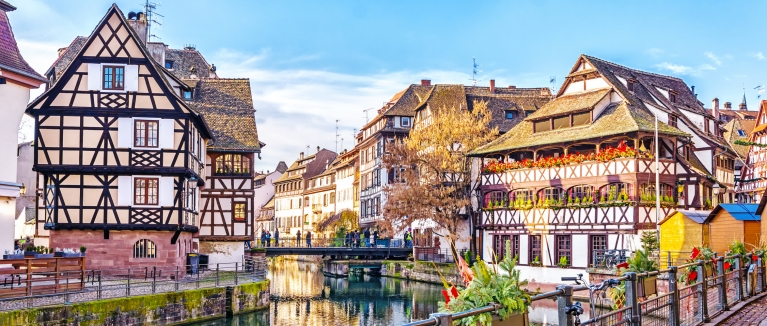 View on Strasbourg