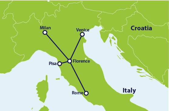 Train route: Florence and Beyond | Interrail.eu