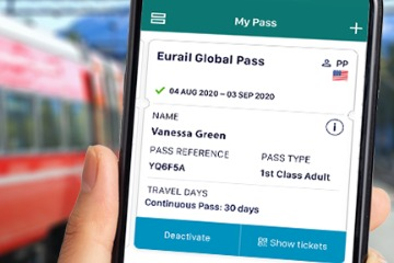 Eurail mobile Global Pass