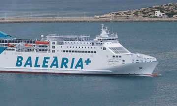 Ferry to Balearic Islands